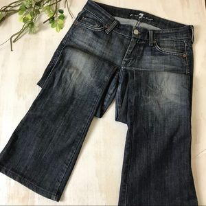 7 For All Mankind A Pocket Flare Jeans size 28